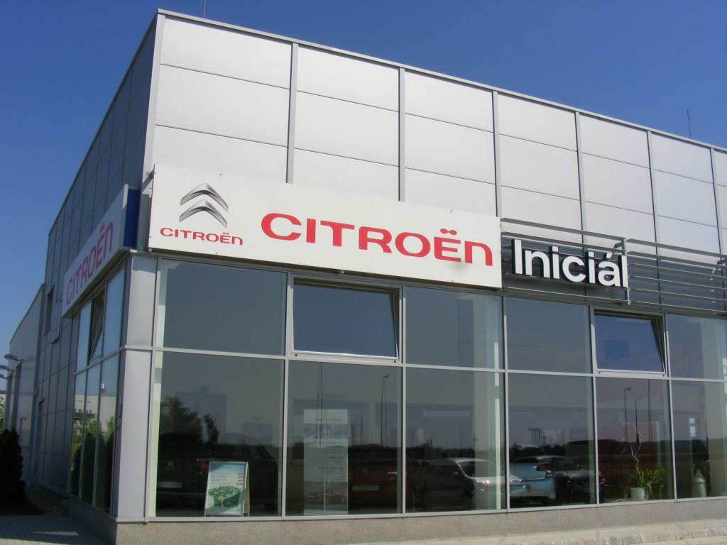 Citroën márkakereskedés nyitása