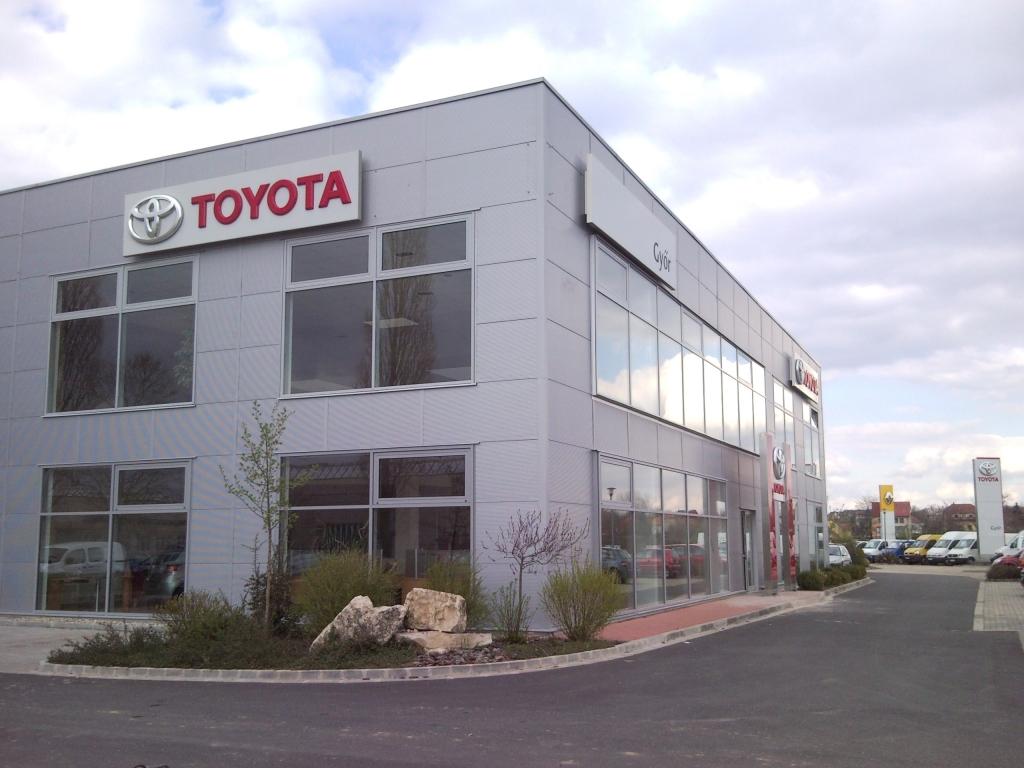 Toyota márka bevezetése