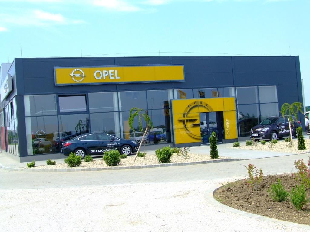 Opel szalon nyitás Szombathelyen